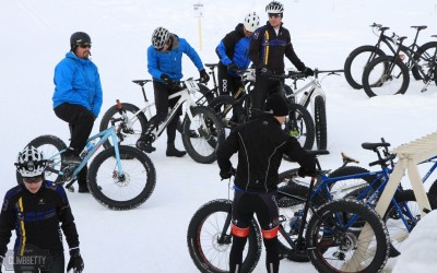 Fat Bike with Breck Bike Guides